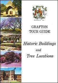 Front cover of 'Grafton Tour Guide: Historic Buildings and Tree Locations.'